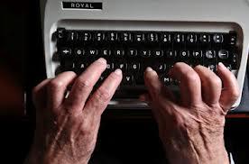The power of the pen, er, typewriter?